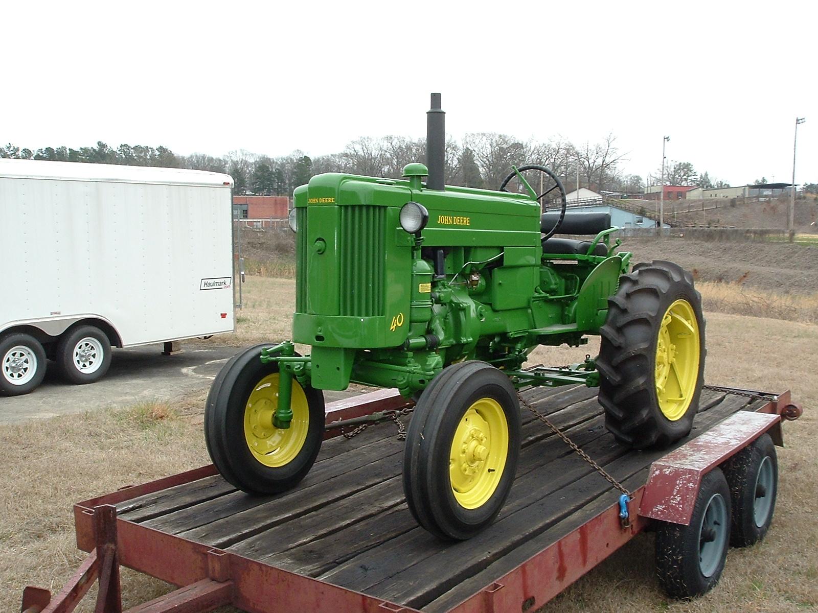 John Deere 40 Parts : The model tocoa ga tractor show